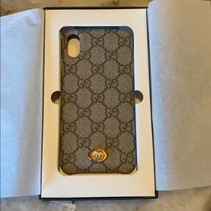 Authentic Gucci Ophidia iPhone XS MAX Case
